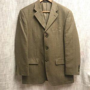 Lu•Strada Glen Plaid 3 Button Blazer Sport Coat